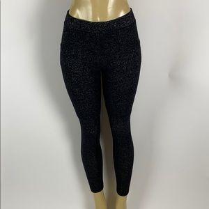 Joah Brown W/Pocket Lined Legging Women's Size S/M